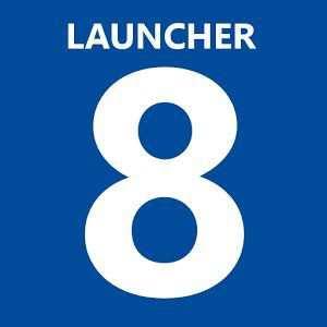 Launcher 8 - Windows Phone 8 Görünümü
