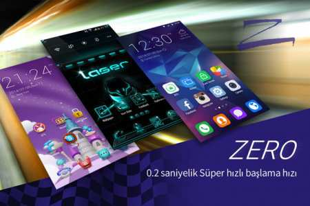 Hızlı ZERO Launcher Android