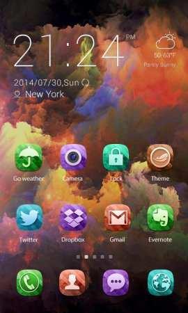Color X Theme Android Uygulaması