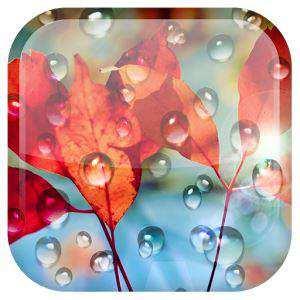 Galaxy S4 Yağmur Damlası LWP (Android S4 Canlı Duvar Kağıdı)