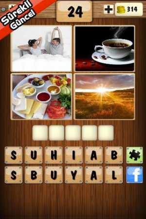 4 Resim 1 Kelime (Android Zeka Oyunu)