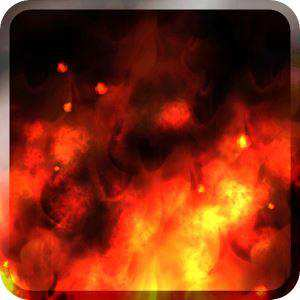 KF Flames Free Live Wallpaper Ateşten Android Duvar Kağıdı