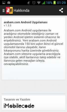 arabam.com Android Uygulaması