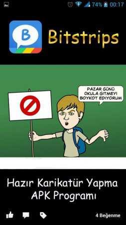 Facebook Karikatür Uygulaması Bitstrips