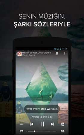 Android Şarkı Sözleri Uygulaması - musiXmatch