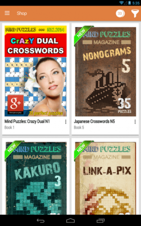Crossword Shop Android