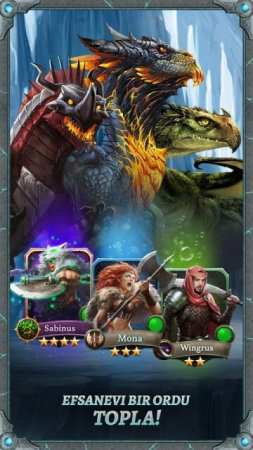 Dragons of Atlantis Android Strateji Oyunu