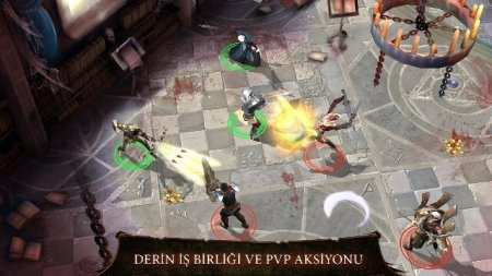 Eski Çağ Oyunu Dungeon Hunter 4 Android