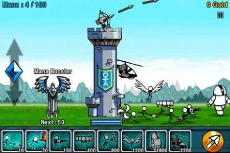 Android Kule Savunma Oyunu Cartoon Wars