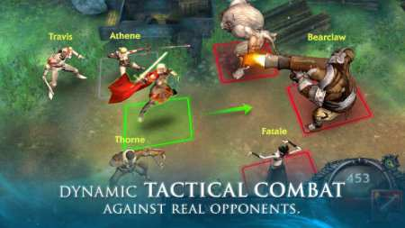 Legion of Heroes MMORPG Android Oyun