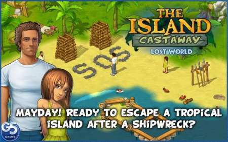 Android Macera Adası Oyunu - Island Castaway Lost World