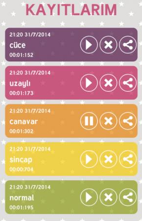 Android Ses Değiştirici