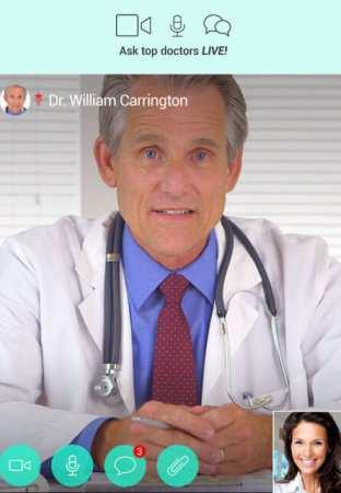 HealthTap (Android Sağlık Hizmet Uygulaması)