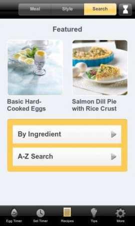 Egg Timer - Yumurta Pişirme Zamanlayıcısı