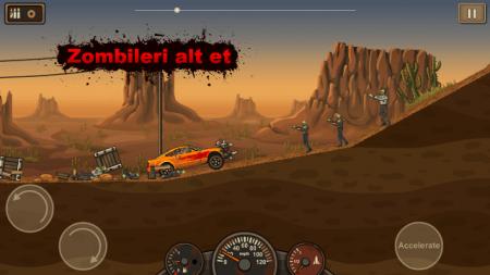 Earn to Die Lite (Android Zombi Atv Oyunu)