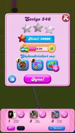 Candy Crush Saga (Facebook Android Oyunu)