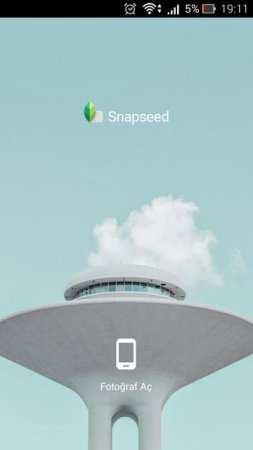 Snapseed Android Google Resim Programı