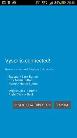 Telefon Ekranını Bilgisayara Aktarma Yöntemi (Vysor)