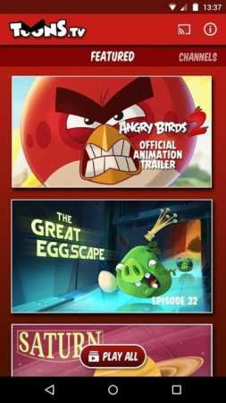 Angry Birds Toons TV Android