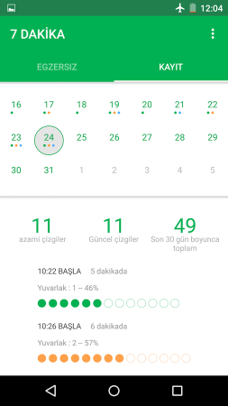 7 Dakika Egzersiz Android