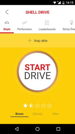 Shell Motorist Android Akaryakıt Uygulaması