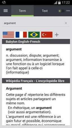 Telefona Babylon Çevirmen İndir