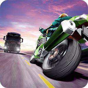 Adrenalini Bol Traffic Rider Motor Yarış Oyunu
