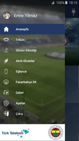 Fenerbahçe Ülker Stadyumu Android Uygulaması
