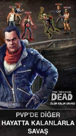 Walking Dead Ölüm Kalım Savaşı Android Oyunu İndir