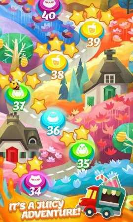 Eğlenceli Eşleştirme Oyunu Juice Jam Android