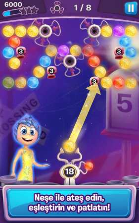 Inside Out Thought Bubbles Disney Android Oyunu