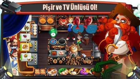 Cooking Dash 2016 Eğlenceli Yemek Pişirme Android Oyunu