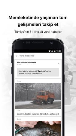 Hürriyet Android (Android Hürriyet Gazetesi Uygulaması)