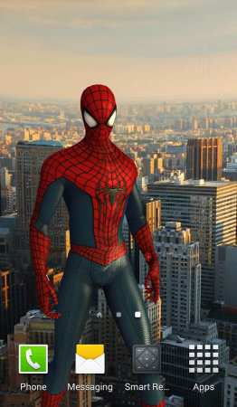 Amazing Spider-Man 3D Live WP (Android Örümcek Adam Canlı Duvar Kağıdı)