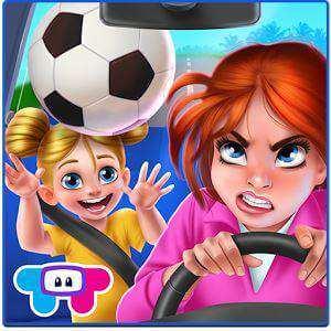Futbolcu Annenin Çılgın Günü Mobil Oyun