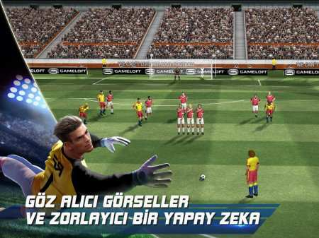 Real Football Gameloft Android Oyunu