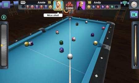3D Bilardo Android Oyunu