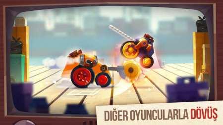 Dövüş Robotu Oyunu - CATS Crash Arena Turbo Stars