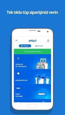 Aygaz Android Tüp Uygulaması