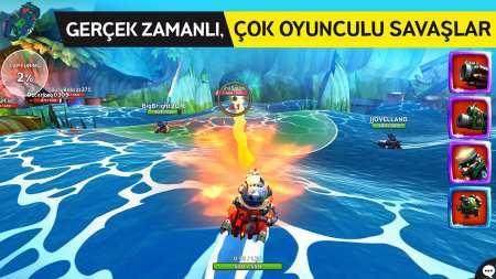 Deniz Savaşları Android Oyunu Battle Bay