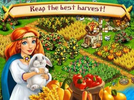 Android Çiftlik Oyunu Harvest Land Apk İndir