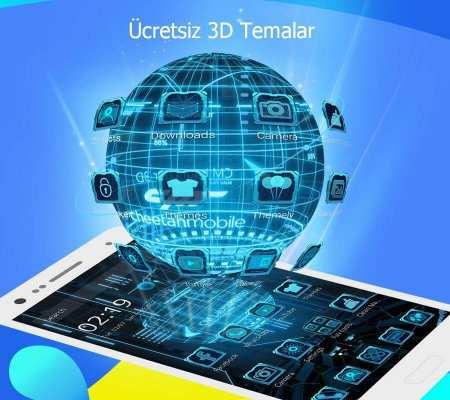 CM Launcher 3D Android İndir