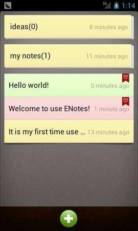 Notlar Android Uygulaması