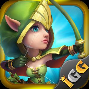 Büyülü Bir Dünya İçin Castle Clash Android Oyun