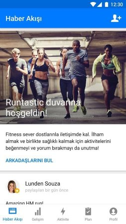 Runtastic Running Fitness Android indir