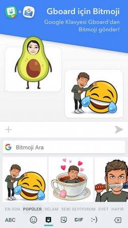 Bitmoji emoji android